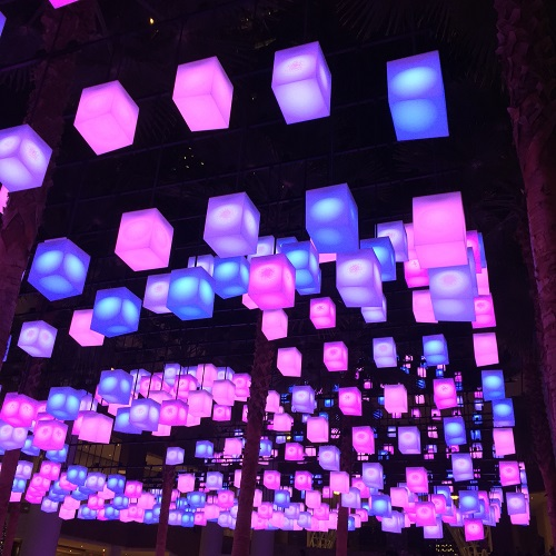 Brookfield Plaza Lights